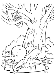 casper falls coloring pages for kids printable free casper