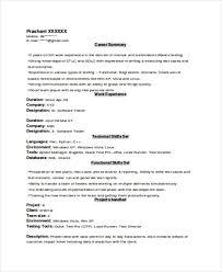 Resume Format Template Word Resume Format Template Resume Formats In Word Resume Format And