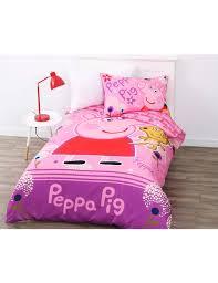 Peppa Pig Bed Set by Peppa Pig Garden Fun Duvet Cover Set Duvet Covers U0026 Co Ordinates