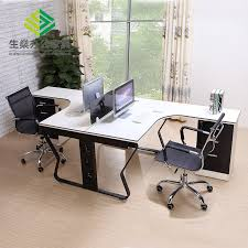 Japanese Desk Japanese Style Six Person Boss Modern Partition European Style