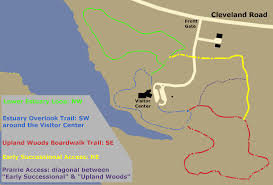 Map Of Sandusky Ohio by Old Woman Creek State Nature Preserve Trekohio