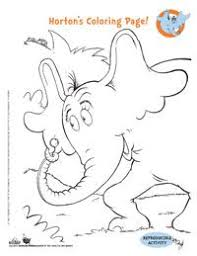 image result for dr seuss printable characters coloring pages