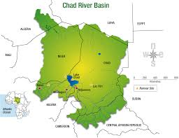 Rivers Of Africa Map by Case Study On River Management Lake Chad Wwf