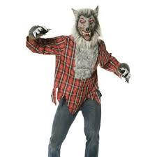 Wolfman Halloween Costume Deluxe Wolfman Fancy Dress Costume