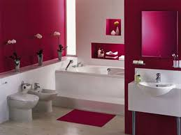 Kids Bathroom Designs In White Red White And Blue Bathroom Decor