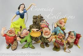 wdcc snow white and the seven dwarfs ornament set le disney