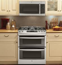 kitchen ge 30 inch slide in double oven gas range with oven range