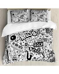 King Size Duvet Bedding Sets Shopping Deals On Doodle King Size Duvet Cover Set