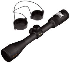 amazon com nikon prostaff 3 9 x 40 black matte riflescope bdc