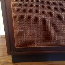 mid century storage cabinet mid century modern walnut turntable record storage cabinet epoch