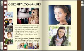 yearbook creator add a look a like page to your yearbook treering