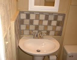 bathroom sink backsplash ideas pedestal sink backsplash ideas bathroom sink backsplash bathroom