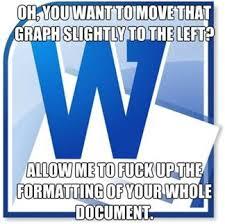 Microsoft Word Meme - scumbag microsoft word meme by mememucher memedroid