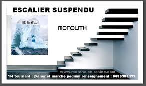 floating stair kit suspended stair