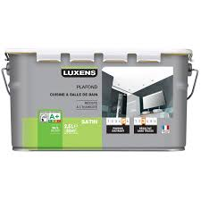 peinture blanche cuisine peinture blanche plafond plafond cuisine et bains luxens satin 2 5