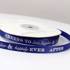 personalized ribbon cheers to laughter personalized ribbon the knot shop
