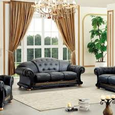 Full Top Grain Leather Sofa by Furniture How To Make Your Living Room Cozy With Full Grain