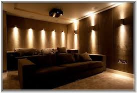 Home Theatre Wall Decor Home Theater Lighting Design Gorgeous Decor Awesome Design Home