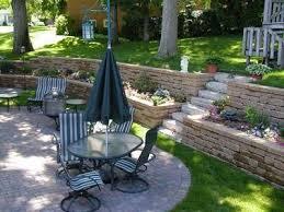 Tiered Backyard Landscaping Ideas 9 Best Tiered Wall Images On Pinterest Backyard Ideas