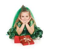 in christmas tree costume stock photo image 45873896