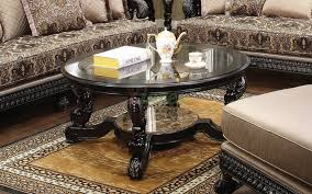 Glass Coffee Tables by Alya Round Coffee Table Toronto With Beveled Glass Top Xiorex