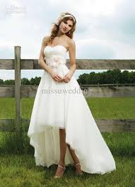 wedding dress short in front long in back weddings that i