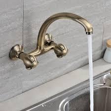 wall mounted kitchen sink faucets captainwalt com