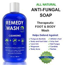 remedy antifungal soap helps wash away body odor athlete u0027s foot