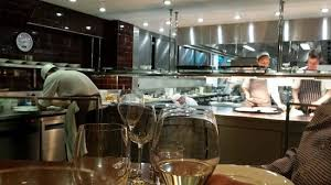 A View Of The Kitchen From The Chefs Table Picture Of Petrus - Kitchen table restaurant london