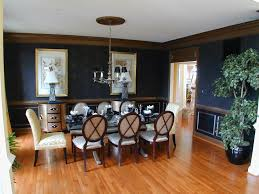 Blue Dining Room Designs Decorating Ideas Design Trends - Navy blue dining room