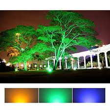 autai led flood light waterproof 30w rgb multi color changing
