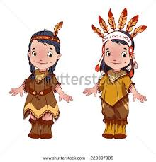 thanksgiving day indian on olive stock illustration 88028239