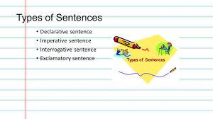 Declarative And Interrogative Sentences Worksheets Grade Seven Exam Study Guide Ppt Download