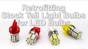 Led Car Light Bulb by How To Retrofit Led Car Bulbs In Place Of Incandescent Stock Bulbs