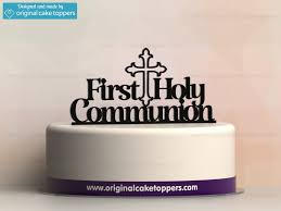 communion cake toppers holy communion black christian celebration cake topper