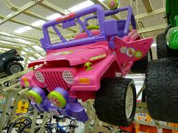 purple barbie jeep walmart westfield ma pink jeep wrangler purple barbie ca u2026 flickr