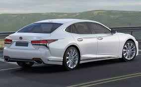 lexus sedan models 2006 lexus ls500 2018 3d model cgtrader