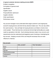 key account template sle account plan template 13 free documents in pdf word