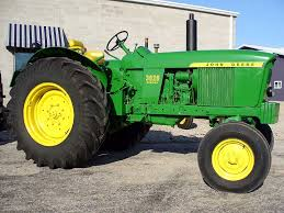 list of john deere tractors