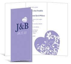 tri fold wedding program template tri fold wedding invitation 3 625 x 8 875 tri fold invitations