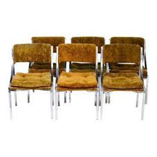 vintage u0026 used burnt orange dining chairs chairish