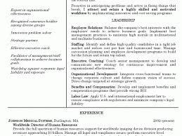 proactive human resource resume human resources director resume