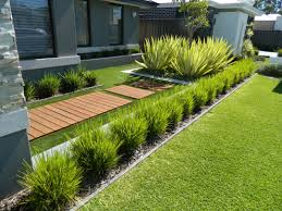 Front House Landscaping by One Of Our Front Yard Design Modern Contemporary Fake Grass