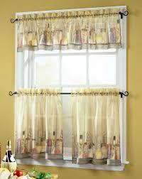 fascinating yellow kitchen curtains photos ideas house design