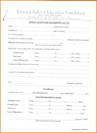 Sample Letter For Medical Leave Application Returning To Work After Maternity Leave Cover Letter Images