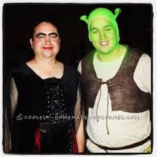 Shrek Halloween Costumes Adults Cool Halloween Couples Costume Night Shrek Fiona
