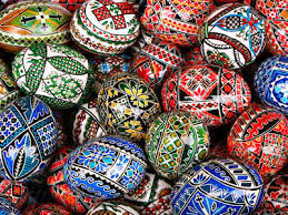 Russian Easter Egg Decorating Kit by Intricate Colorful Traditional Romanian Easter Eggs Bright