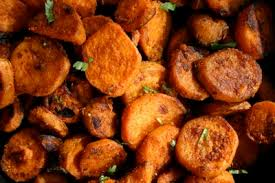 thanksgiving recipe indian spiced sweet potatoes with kashmiri