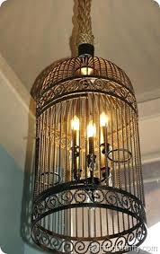 home interior bird cage chandelier in birdcage the distinctive cage design of this