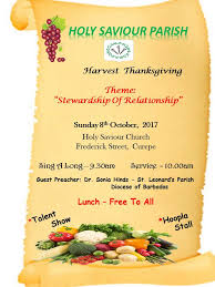 holy saviour parish holy saviour parish harvest thanksgiving